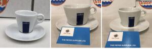 set of 3 Lavazza Americano Cappuccino Espresso Cup & Saucer x 4 (12 in tota )