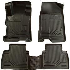 Husky Liners 2006-2011 Honda Civic Sedan Floor Mats Front and Rear Black 4 Door