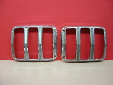 Vintage 1965-66 MUSTANG Fo Mo Co. C4ZB-13449-B Tail Light Chrome Holders