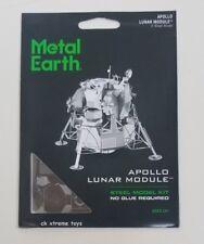 Fascinations Metal Earth Apollo Lunar Module Nasa 3D Puzzle Model Kits MMS078