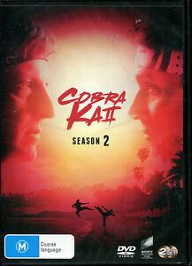 Cobra Kai Season 2 Two DVD NEW ALL Region NTSC Ralph Machio