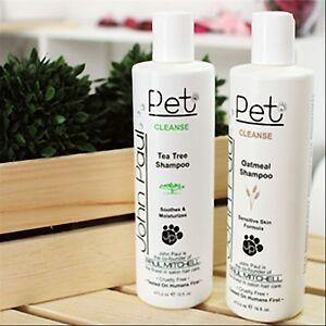 Luxury Pet Spa- Conditioning Shampoo Tea Tree&Oat Meal Dogs/Cats John Paul Pet