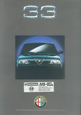 6351AL Alfa Romeo 33 Prospekt Drucknummer 902866 brochure