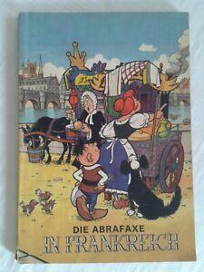 """Mosaik """"Die Abrafaxe in Frankreich"""" DDR-Comic 1984"""