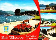 Bad Wiessee  ; Ansichtskarte , gelaufen