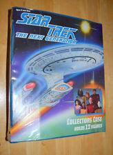 Star Trek 1993  The Next Generation Action Figure Collectors Case
