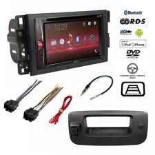 Pioneer Double DIN Bluetooth Stereo+Backup Camera+Chevy Silverado Radio Dash Kit