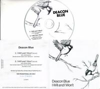 DEACON BLUE I Will And I Won't 2017 UK 2-trk promo test CD