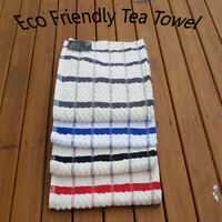 TEA TOWELS TERRY COTTON KITCHEN DISH CLOTH CLEANING DRYING HIGH ABSORBENT