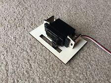 1/8 3 mm plywood Servo/Radio Vassoio di montaggio angolo retto o Piatte, ala montato