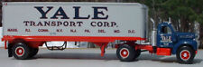 HUGE 14 INCH LONG YALE TRANSPORT B MACK TRACTOR TRAILER BIG RIG - FIRST GEAR