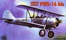 PWS 16 BIS - POLISH AF 1939 1/72 RPM ( pzl )