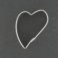 MINIATURE FOLK HEART MINI METAL COOKIE CUTTER STENCIL PARTY FAVOR FONDANT LOVE