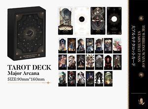 Full Metal Alchemist  Major arcana  Tarot card 22 cards Doujin New