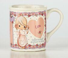 Precious Moments Coffee Tea Cup Mug Porcelain - 'Lisa' - Dedicated Friend