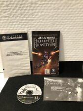 Star Wars Bounty Hunter  Nintendo GameCube Disc & Instruction Manual Only Good