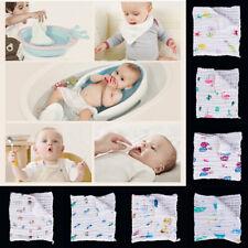 Bebé recién nacido Niños Niñas plazas de muselina Surtidos//Baby Wrap//Envoltura impreso liso