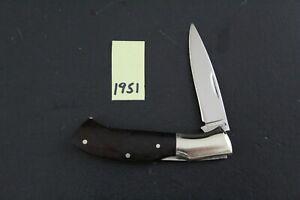 Browning, Model 305, Japan, Small Wood Lockback Pocket Knife 1951