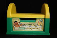 Sesame Street Bert & Ernie 1984 Fisher-Price Step Stool