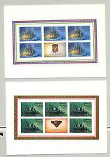 Grenada Grenadines #91-98 Bicentennial, 8v. m/s of 5 + labels imperf proofs
