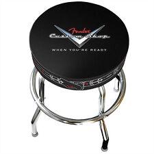 "Fender 24"" Custom Shop Bar Stool - Pinstripe +Picks"
