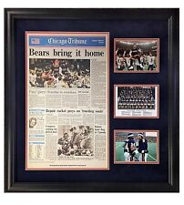 Chicago Bears Bring It Home Deluxe  (reprint) NEWSPAPER FRMD 25x26