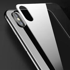 """Pellicola VETRO posteriore trasparente pr iPhone X 10 5.8"""" protezione retro back"""