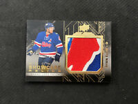 2015-16 UPPER DECK BLACK RYAN ELLIS ROOKIE SHOWCASE RELICS 'NHLPA' PATCH #ed 1/7