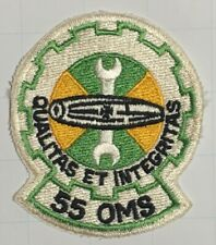 USAF AIR FORCE 55th OMS ORGANIZATIONAL MAINTENANCE Squadron PATCH