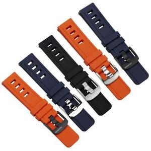 ZULUDIVER® 1960s Swiss Style Divers Quick Release Watch Strap 22mm