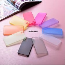 10 x Silicon Protection Case/Cover For iPhone 4S ( 10 Colors) Job Lot Mix Color