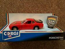 Corgi Porsche 944 turbo Boxed matchbox hotwheels diecast model