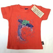 NWT Charlie Rocket Boys Top Size 9-12mo~Turtle~Made in the USA~Boutique Brand