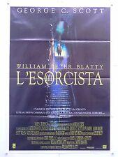 L'ESORCISTA III° horror W.P.Blatty George C.Scott manifesto orig. 1990
