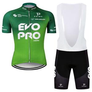 2021 Men's Cycling Clothing Short Jersey Bike Bib Shorts Set Shirt Tight Padded