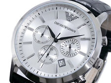 New Men's Emporio Armani AR2432 Watch Tags Warranty Box RRP $449