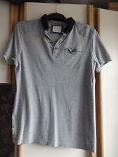 #B07 - Grey Short Sleeve Polo Shirt From Nanny State - Size M