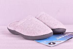 Women's Isotoner Classic Terry Cloth Slipper Clog, Heather Grey