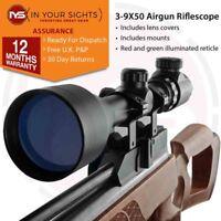 3-9x50 Air gun Rifle scope & Dovetail Mounts / Illuminated reticle hunting scope