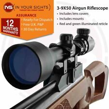 3-9X50 Air gun Rifle scope +11mm Dovetail Mounts, Air rifle hunting scope