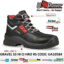 UPOWER SCARPE LAVORO ANTINFORTUNISTICA GRAVEL S3 HI CI HRO RS U-POWER UA10584