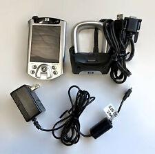 Hp iPaQ H5550 Color Lcd Pocket Pc Pda 128Mb H-5550 Fingerprint Reader h5555 Bt