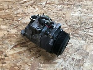 00-06 MERCEDES S430 S500 S55 S600 W220 AC COMPRESSOR ASSEMBLY OEM