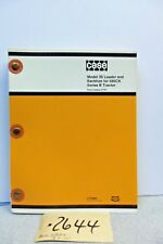 CASE 580CK MODEL 35 LOADER AND BACKHOE SERIES B TRACTOR  PARTS BOOK H1155
