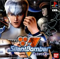 USED PS1 PS PlayStation 1 Silent Bomber