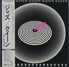 Queen - Jazz JAPAN LP with OBI and INSERTS Poster