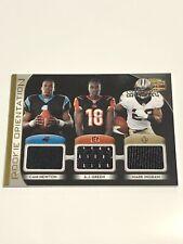 Beautiful Trio Rookie Jersey Card Newton/Green/Ingram #20/250