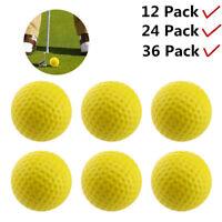 Practice Foam Golf Balls 12 & 24 & 36 Pcs/Pack Indoor Outdoor Training Aids USA