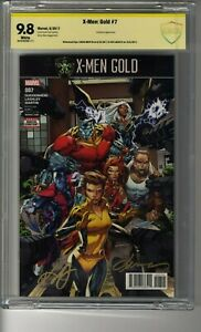 X-Men Gold # 7 - CBCS 9.8 WHITE Pages - SS2X Ken Lashley and Laura Martin