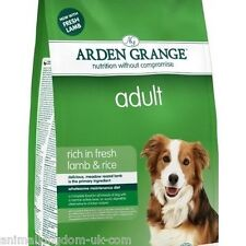 Arden Grange Adult Lamb & Rice Dog Food 12kg